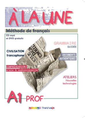 A_LA_UNE_A1_LIVRE_PROFESSEUR
