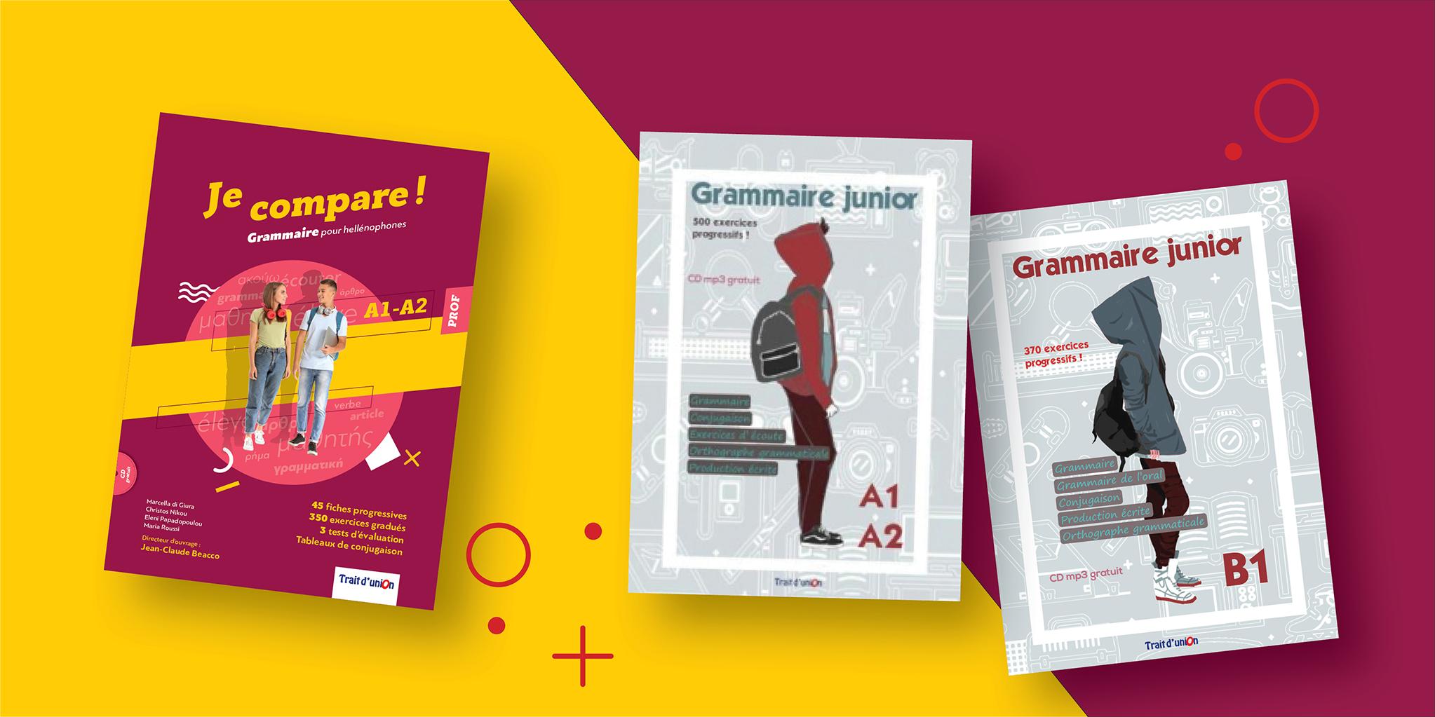 Grammaire junior - Je Compare